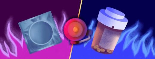 Condoms versus PrEP? image