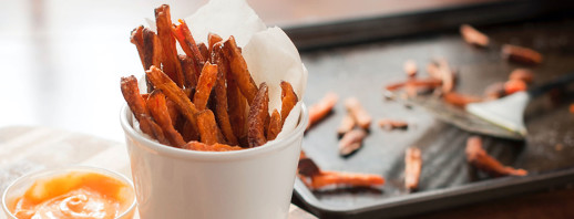Baked Sweet Potato Fries image