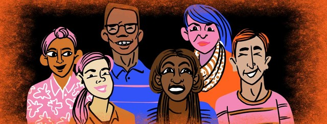 a group of multiethnic people