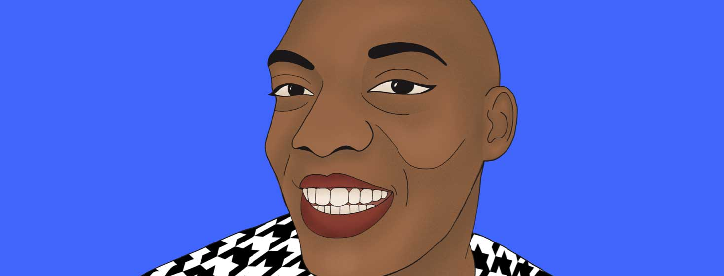 A portrait of Jah Love